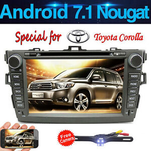 Car Stereo For Toyota Corolla 2007 2011 Auto Radio Dvd Gps Multimedia Navigation
