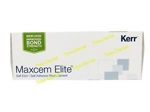 Kerr Maxcem Elite Self etch self adhesive Resin Dental Cement Shipping Free