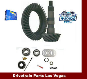 Richmond Excel Ford 8 8 10 Bolt 3 55 Ratio Ring And Pinion Gear Set Pinion Kit