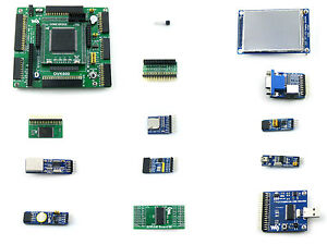 Altera Ep2c8q208 Cyclone Ii Fpga Development Board Nios Ii System Evaluation Kit