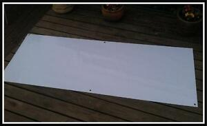 Pvc Blank Banners With Eyelets Waterproof Set Of Two 2 Meter X 760mm