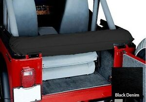 Smittybilt Soft Top Storage Boot For 1997 2006 Jeep Wrangler Tj Lj Black Denim
