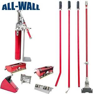Level5 Drywall Finishing Set W 7 10 Boxes Angle Head Box Roller Pump
