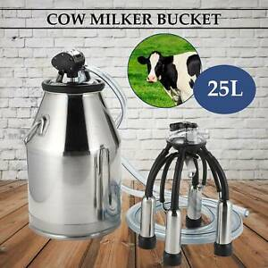 Cow Milker 304 Stainless Steel Milk Bucket Top Quality Cow Milking Equipment