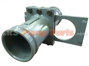 Concrete Pump Parts 5 Metric 148mm Shut Off Valve