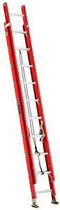Louisville Ladder L 3025 20 Fiberglass Multi section Extension Ladder 20 Ft