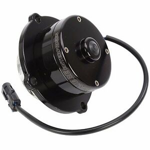 Meziere Insert Style Electric Water Pump Hd Motor Mopar Bb Wp105shd Black