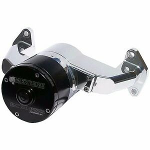 Meziere 42gpm Electric Water Pump Hd Motor Ford Fe Engine Wp170uhd Polished