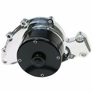 Meziere 35gpm Electric Water Pump Standard Motor Gm3800 3 8l V6 Wp140u Polished