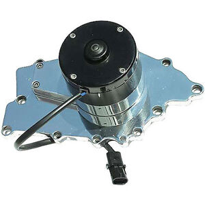 Meziere 35gpm Electric Water Pump Big Block Buick Standard Motor Wp126u Polished