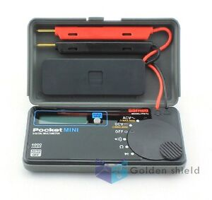 New Sanwa Pm7a Pocket Mini Size Portable Multimeter Dmm