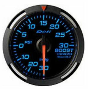 Defi Blue Racer Gauge 52mm 30psi Boost Meter 06501