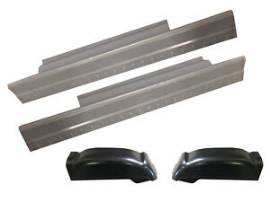 1999 07 Chevy Silverado Sierra 2dr Std Cab Rocker Panels And Cab Corners Kit