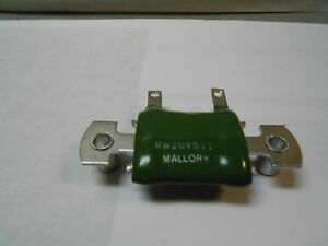 Rw20v511 Resistor 510 Ohms New Old Stock 35 Pcs