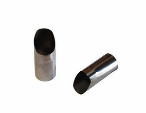 Qsc Stainless Steel Exhaust Tips 1 Pair For Porsche 356 1960 65