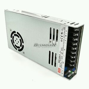 Mean Well Rsp 320 5 300w 5 Volt Power Supply With Pfc For Led Signs