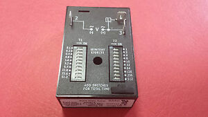 Rs4b14 Ssac Timer Recycling Solid State Relay 120vac On