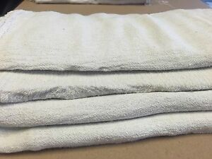 2500 Pcs Industrial Commercial Standard White Shop Cleaning Towel Rags