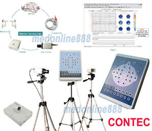 Digital Brain Electric Activity Mapping Eeg Machine System Tripods 16 Channel