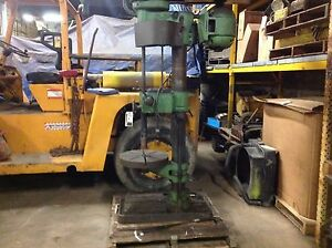Buffalo Forge Co No 22 Drill Press