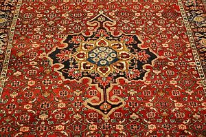 C1930s Antique Fine Classic Village Woven Prsian Bijar Rug 5 6x8 9 True Beauty