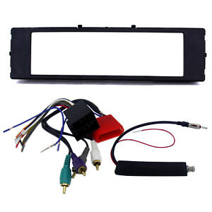 Radio Replacement Dash Kit W Amp Integration Wire Harness Antenna For Audi Tt