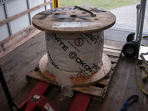 1050 Ft Okonite 3 Conductor 6 Awg Copper With 3 12 Awg Ground Wires New