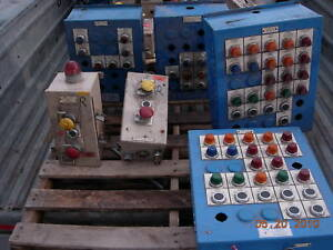 Allen Bradley Switches And Control Boxes