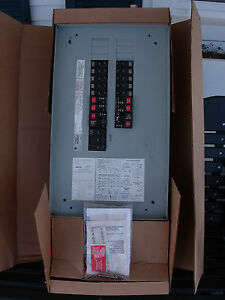 New Ge Series A 60 Amp Main With Gfi Breakers Distribution Panel Board