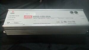 Mean Well Hvg 150 30a Ac dc Power Supply Single out 30v 5a 150w Us Approved