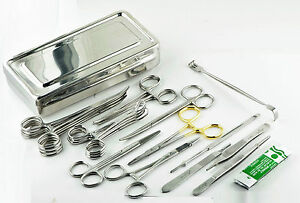 Spay Kit Veterinary Surgical Instruments Ovaries Removal Veterinary Kit R98 1274
