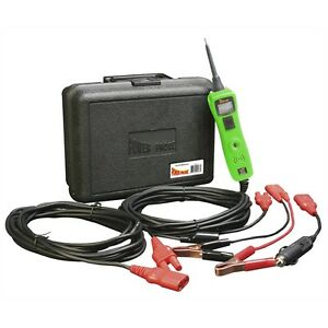 Power Probe Iii Circuit Tester Voltmeter Kit W case Green pp319ftc grn