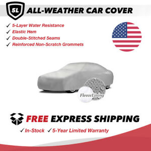 All weather Car Cover For 1987 Ford Mustang Sedan 2 door