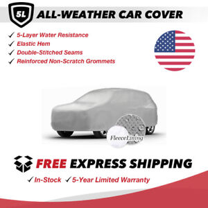 All weather Car Cover For 1988 Dodge Raider Sport Utility 2 door