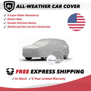 All weather Car Cover For 1988 Mitsubishi Montero Sport Utility 2 door