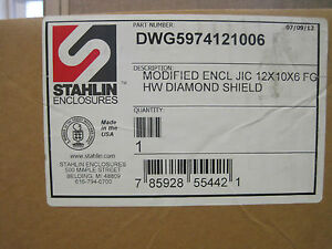 Stahlin Diamond Shield Enclosure Ds121006hw Pr1769