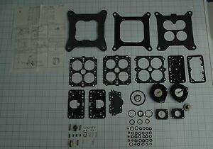 Ford Marine Application Holley 4 Barrel Carb Kit 8 Cyl 302 351 460 Engines