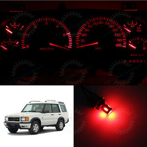 Super Red Instrument Cluster Led Lights Speedometer Bulb For 94 98 Discovery