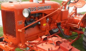 Decal Set Allis Chalmers Ac Ca Lettering Aftermarket