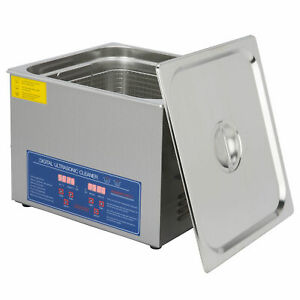 15l Professional Ultrasonic Cleaner Commercial Electric Ultrasound Cleaner 110v