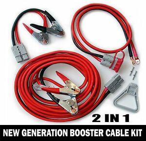 New Generation Of Professional Booster Cable 2 In 1 30 Feet 1 Gauge