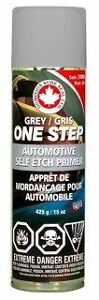 One Step Self Etching Primer Aerosol Grey 16oz Can Dominion Sure Seal Sep