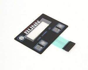 Bunn 32126 1004 Membrane Switch Ultra 2 B Kit