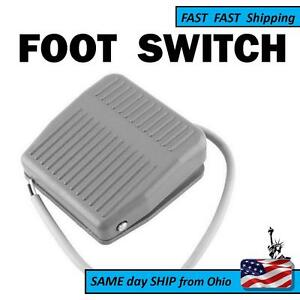 Foot Switch Pedal Momentary Control Spdt 1 No 1 Nc Contacts Fast Ship