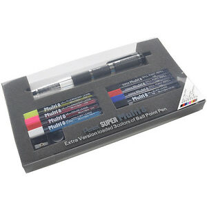 Pentel Super Multi 8 8 kinds Of Lead In One Holder Mechanical Pencil Ph803st