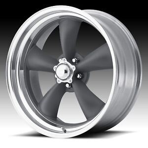 American Racing Vn215 Torq Thrust Ii Mag Gray 16x8 5x4 75 11mm Vn2156861