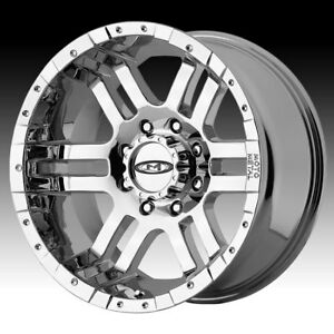 Moto Metal Mo951 Chrome 17x9 8x6 5 12mm Mo9517980212