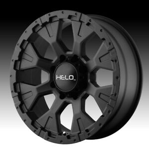 Helo He878 Satin Black 16x9 6x5 5 12mm He87869068712n