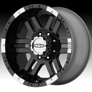 Moto Metal Mo951 Black Machined 18x9 8x6 5 12mm Mo9518980312