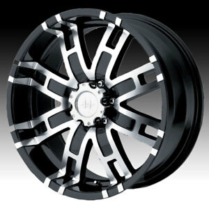 Helo He835 Black Machined 20x9 8x170 18mm He83529087318